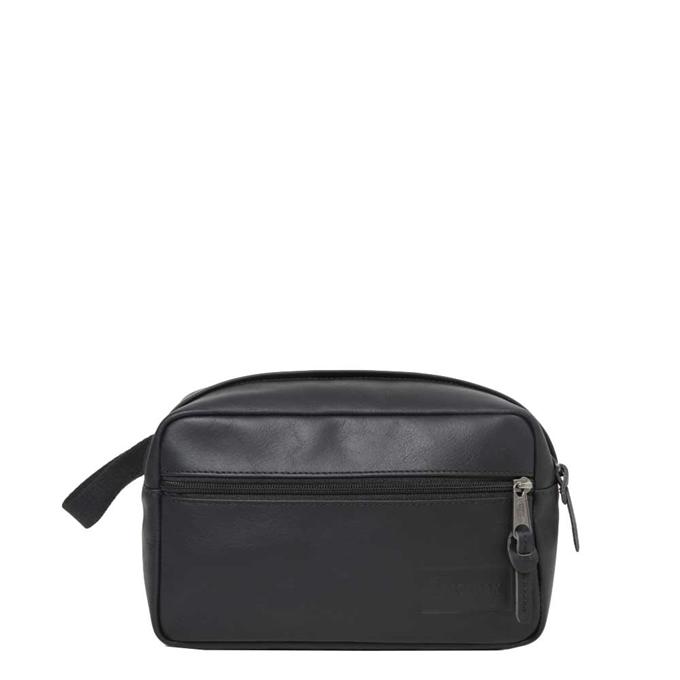 Eastpak Yap Leather Toilettas black ink leather - 1