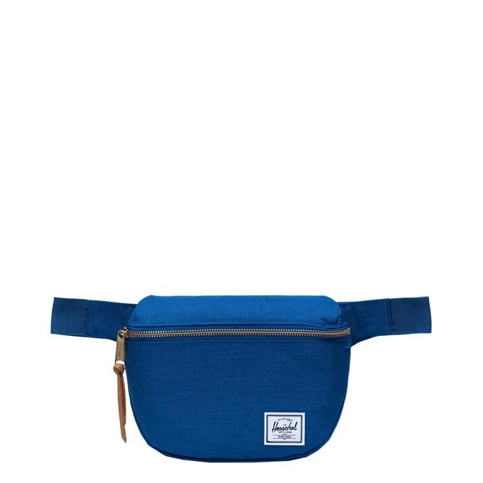 Herschel Supply Co. Fifteen Heuptas monaco blue crosshatch - 1