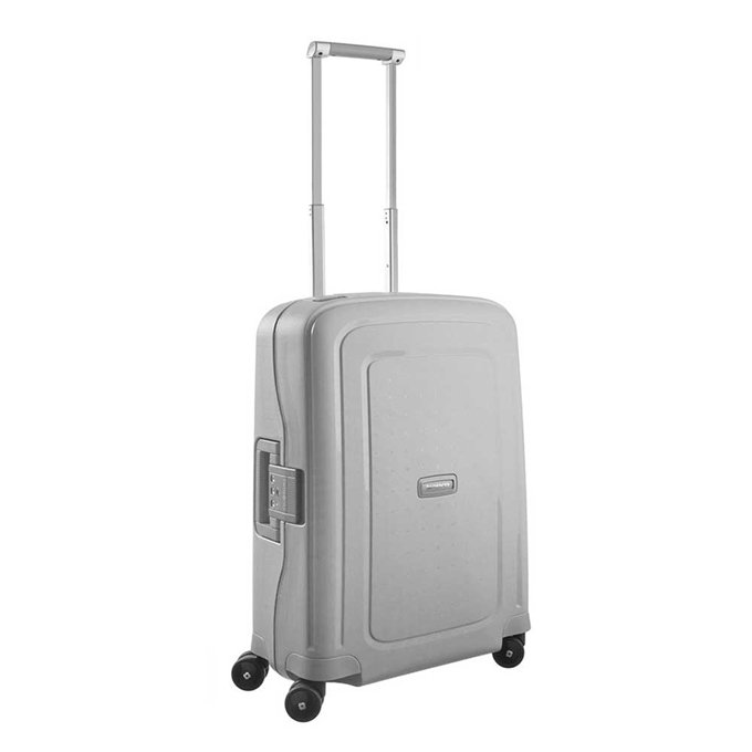 Samsonite S'Cure Spinner 55 silver - 2