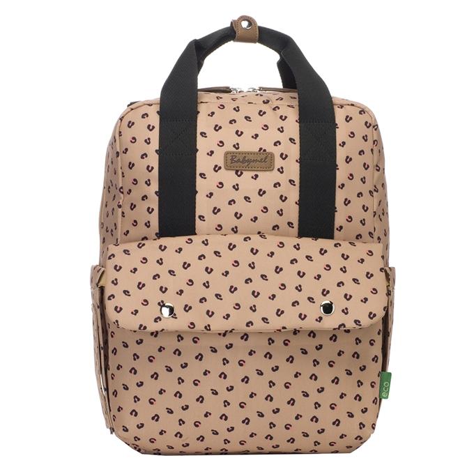 Babymel Georgi Convertible Backpack caramel leopard