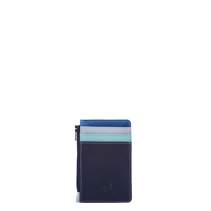 Mywalit Accessories Credit Card Holder/wCoin Purse denim
