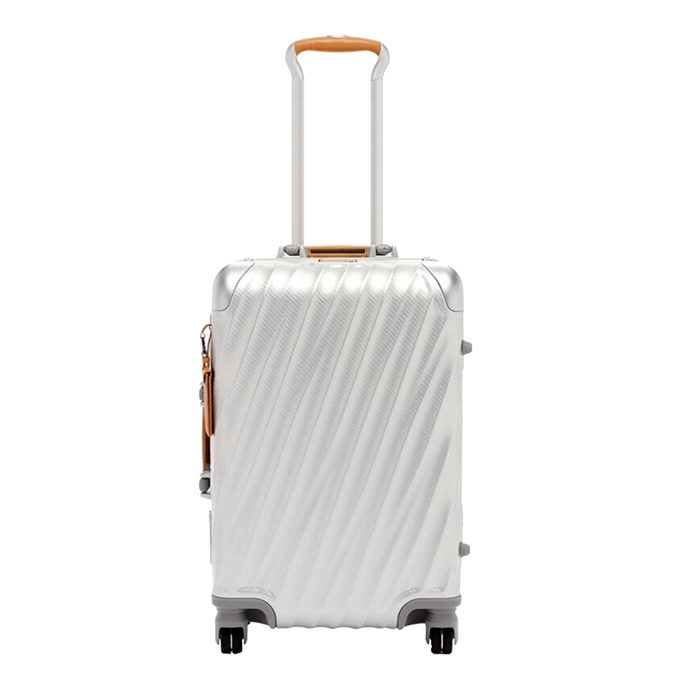 Tumi 19 Degree Aluminium International Carry On texture silver