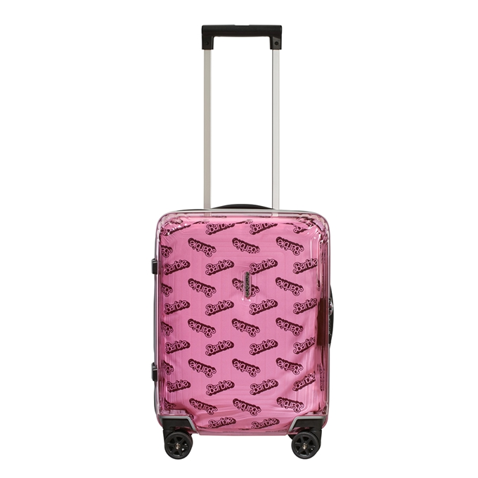 Samsonite Neopulse Barbie Spinner 45 transparent pink