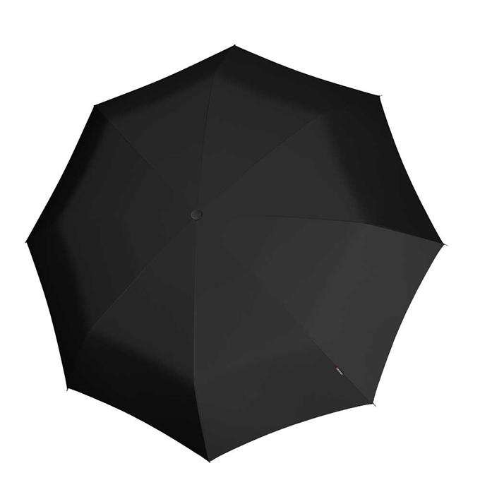 Knirps T-200 Medium Duomatic Paraplu black - 1