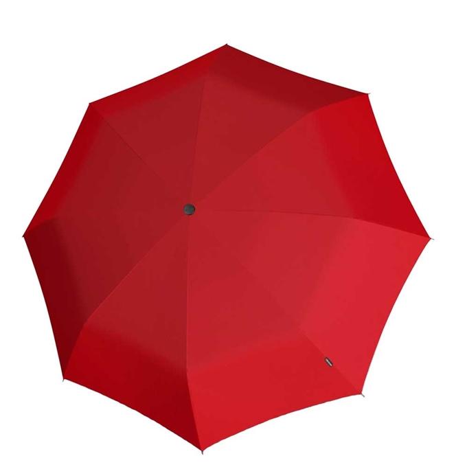 Knirps T-200 Medium Duomatic Paraplu red - 1