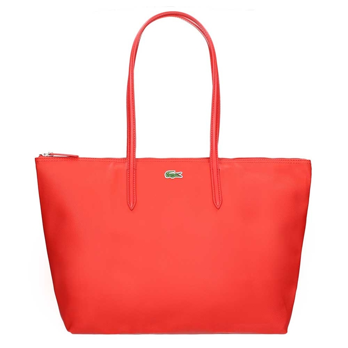 Lacoste Ladies Shopping Bag Large high risk red - 1