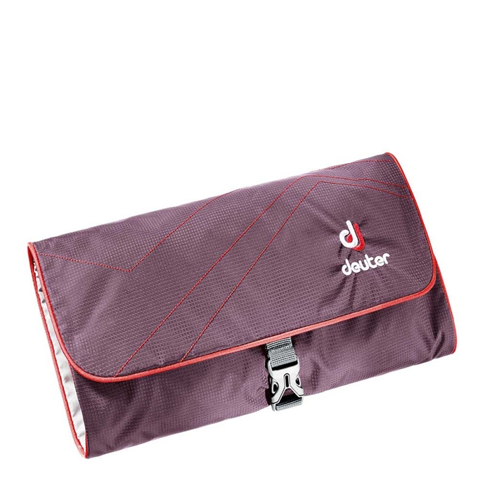 Deuter Accessories Wash Bag II aubergine / fire - 1