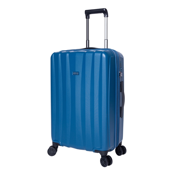 Jump Tanoma PP Ultralight Trolley 65 Exp petrol blue