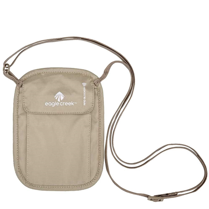 Eagle Creek Necessities RFID Blocker Neck Wallet tan - 1