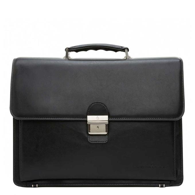 """Castelijn & Beerens Realta Laptoptas 15.4"""" zwart - 1"""