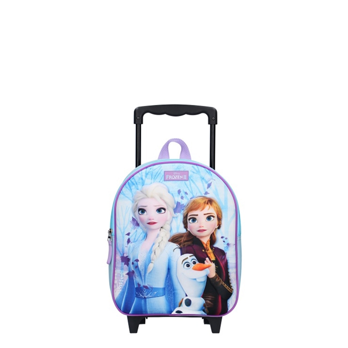 Disney Trolley Rugzak Frozen II Forest Spirit (3D) blue