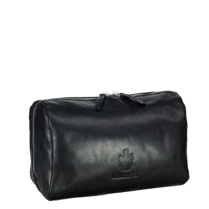 Leonhard Heyden Cambridge Toilet Bag black