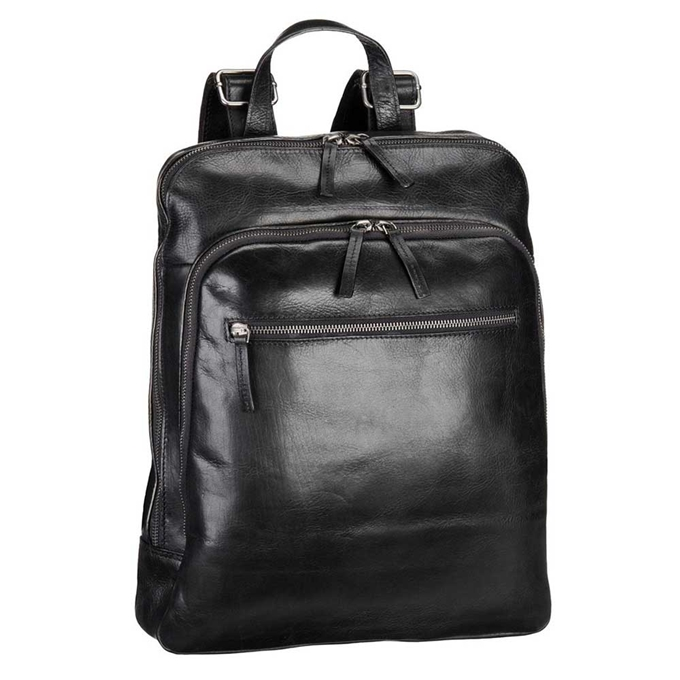 Leonhard Heyden Roma Business Backpack black - 1