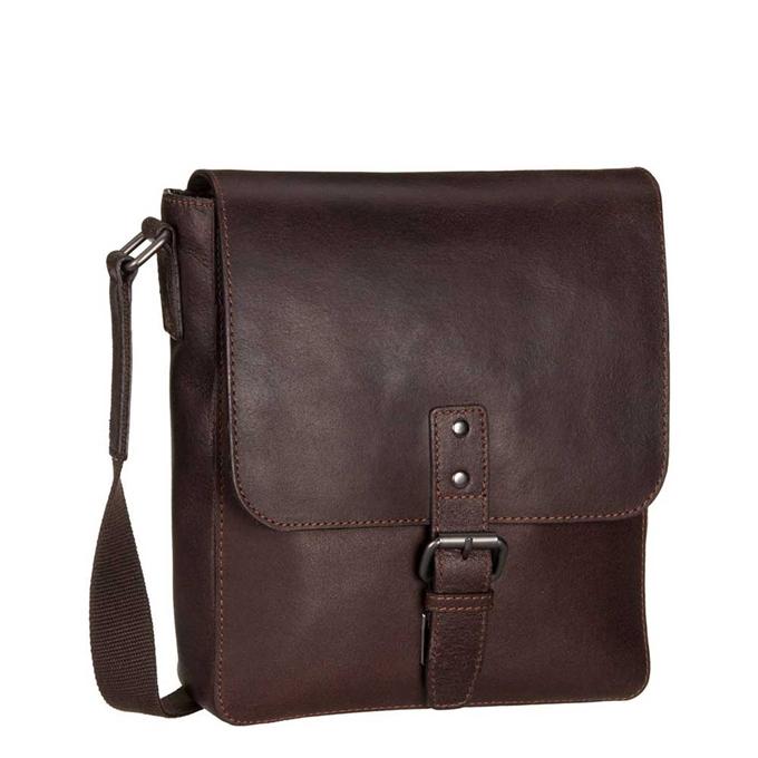 Leonhard Heyden Dakota Messenger Bag S brown2 - 1