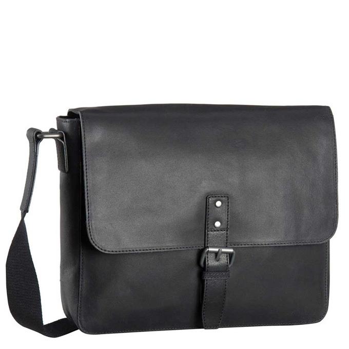 Leonhard Heyden Dakota Messenger Bag M black - 1