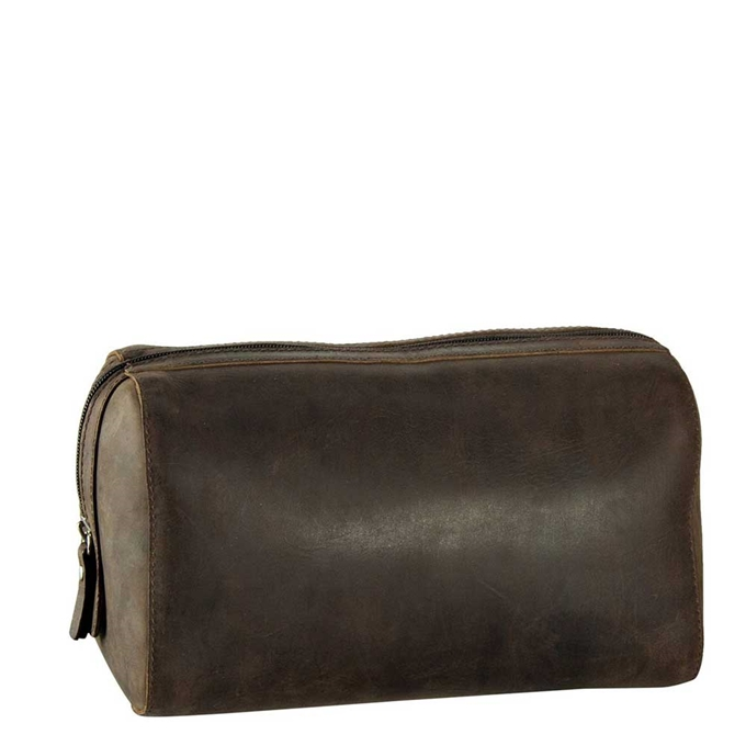 Leonhard Heyden Salisbury Toilet Bag brown - 1