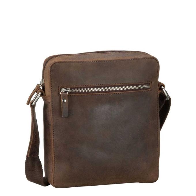 Leonhard Heyden Salisbury Messenger Bag S brown - 1