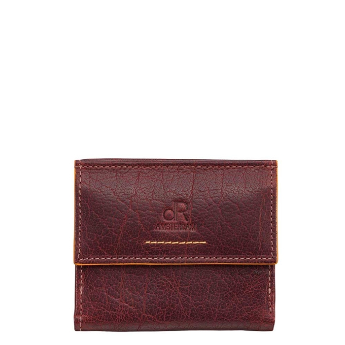 dR Amsterdam Icon Billfold 5 CC brown - 1