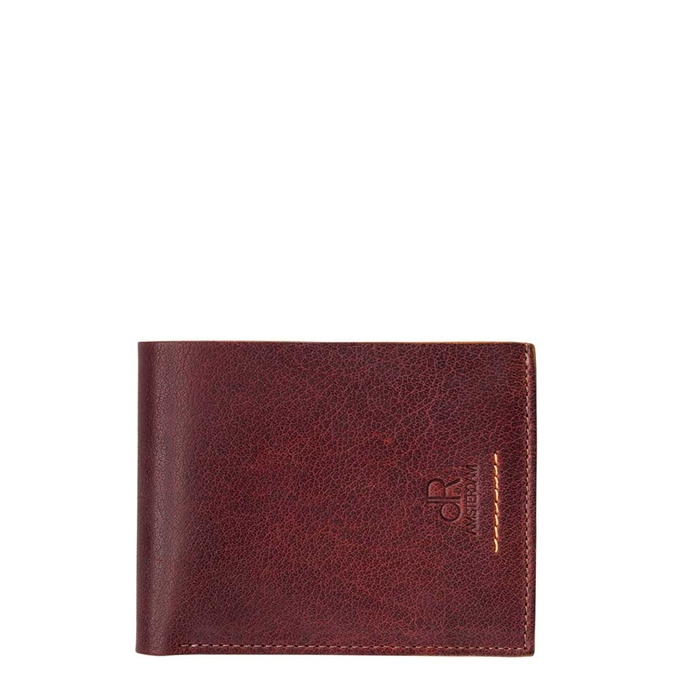 dR Amsterdam Icon Billfold 7cc brown - 1