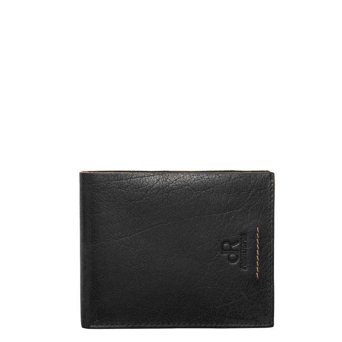 dR Amsterdam Icon Billfold 11cc black - 1