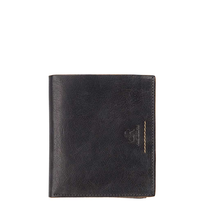 dR Amsterdam Icon Portefeuille RFID 12cc black - 1