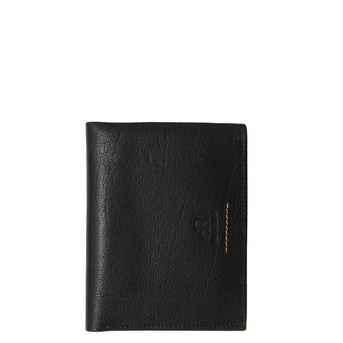 dR Amsterdam Icon Portefeuille RFID 9cc black - 1