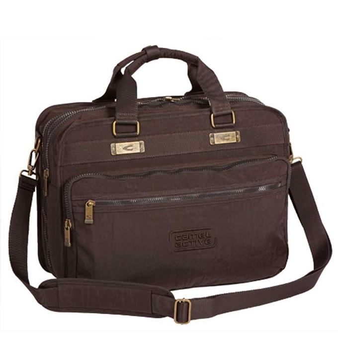 """Camel Active Journey Messenger Bag 17"""" brown - 1"""