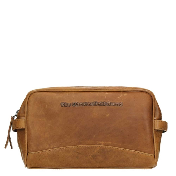 The Chesterfield Brand Stacey Toiletbag cognac
