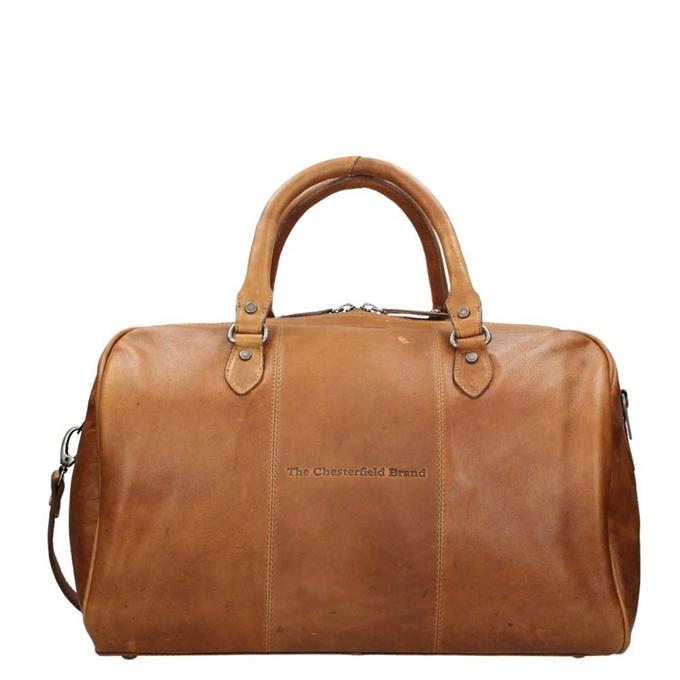 The Chesterfield Brand Liam Travelbag cognac