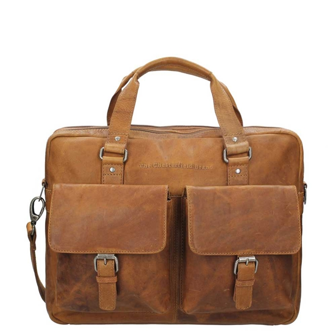 The Chesterfield Brand George Shoulderbag cognac - 1