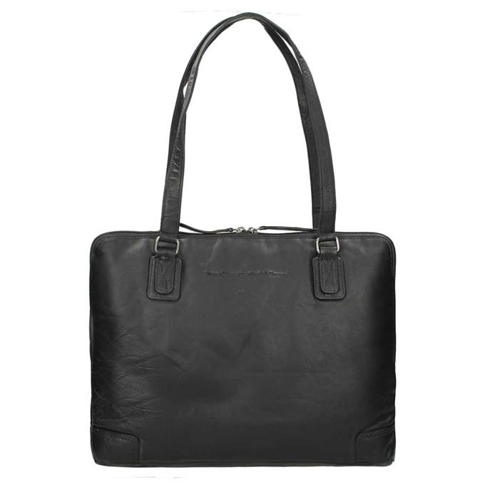 The Chesterfield Brand Flint Shoulderbag Large black - 1