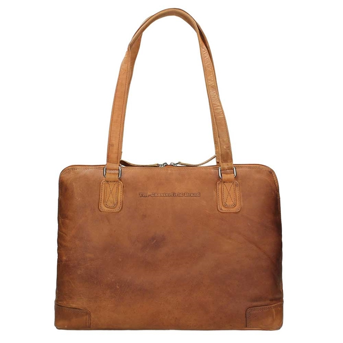 The Chesterfield Brand Flint Shoulderbag Large cognac - 1