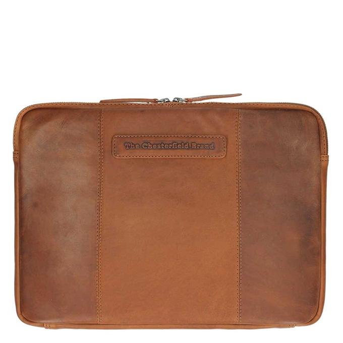 "The Chesterfield Brand Richard Laptop Sleeve 13"" cognac - 1"