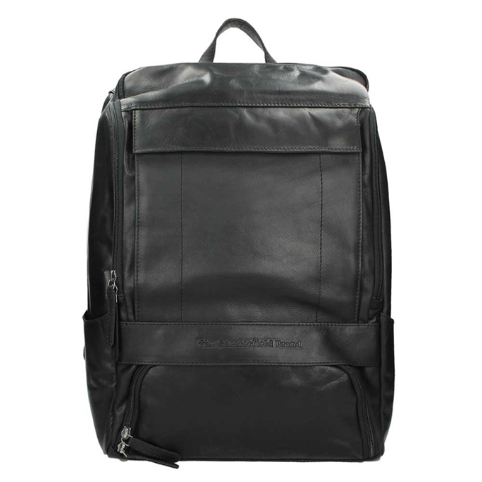 The Chesterfield Brand Rich Laptop Backpack black - 1