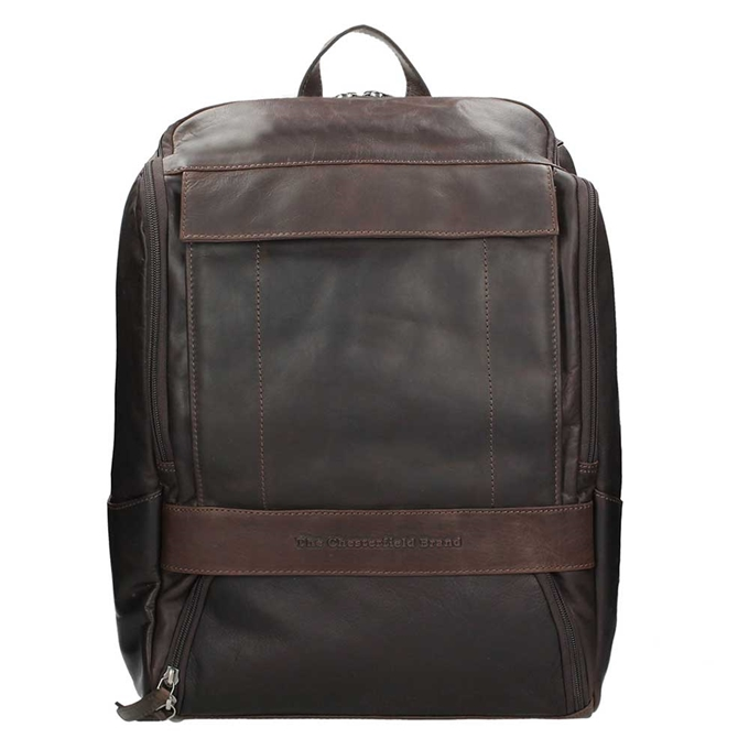 The Chesterfield Brand Rich Laptop Backpack brown - 1