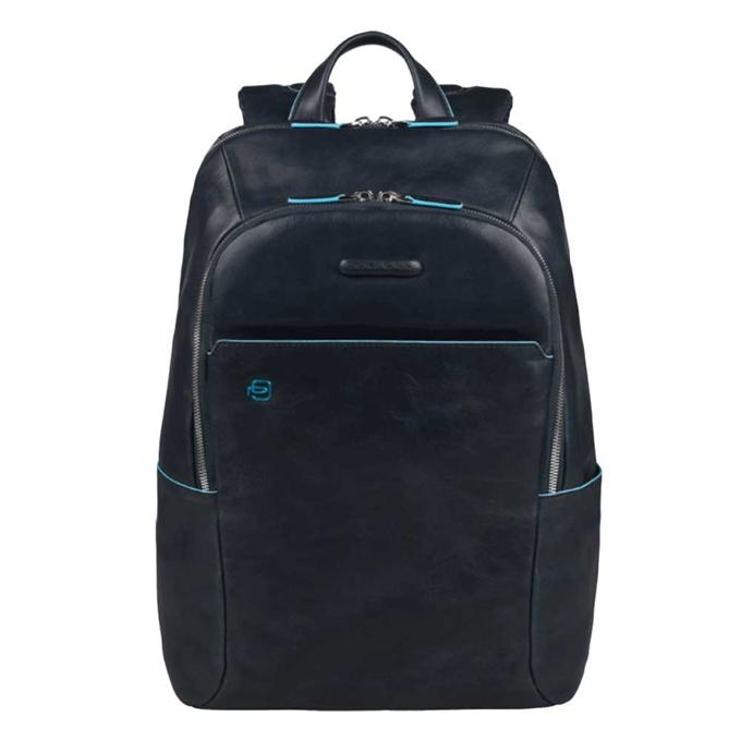 Piquadro Blue Square Backpack night blue