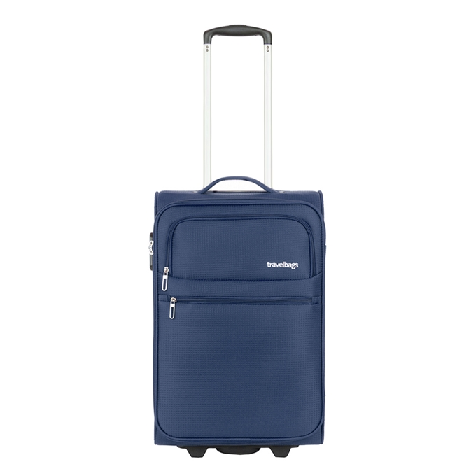 Travelbags Lissabon Handbagage koffer - 55 cm - 2 wielen - dark navy
