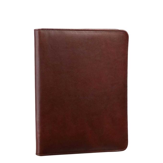 Leonhard Heyden Cambridge Document Wallet medium brown - 1