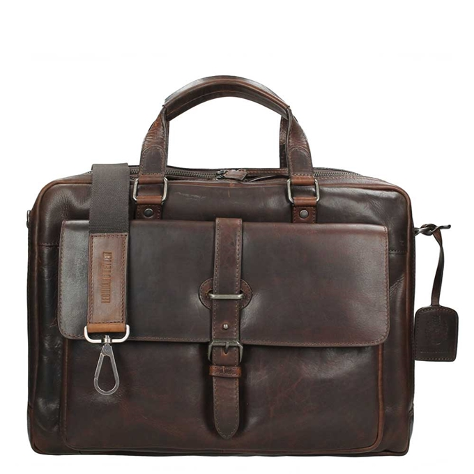Leonhard Heyden Roma Tote Bag brown - 1
