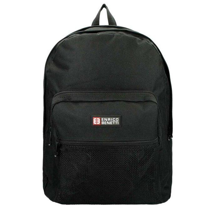 "Enrico Benetti Amsterdam Laptop Rugtas 15"" black - 1"