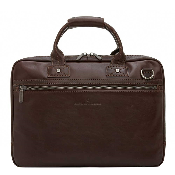 "Castelijn & Beerens Firenze Business Laptopbag 15.6"" mocca - 1"