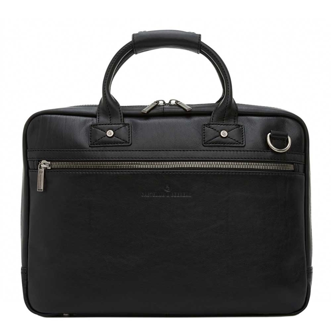"Castelijn & Beerens Firenze Business Laptopbag 15.6"" zwart - 1"
