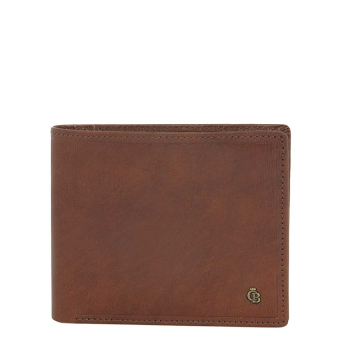 Castelijn & Beerens Dutch Masterpiece Billfold 7 cognac - 1