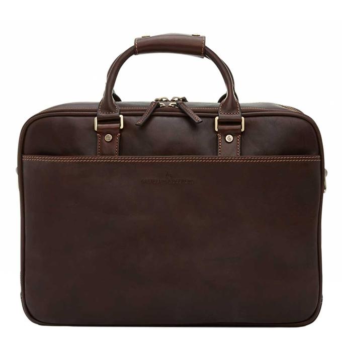 """Castelijn & Beerens Verona Business Laptoptas 15.6"""" mocca - 1"""