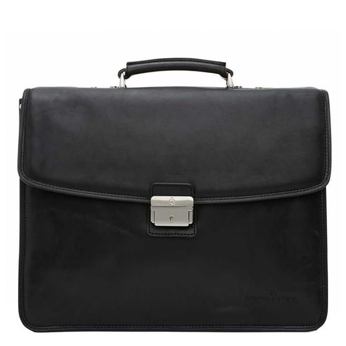 Castelijn & Beerens Verona Laptoptas 15.6'' 3-vaks zwart - 1