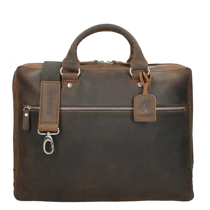 Leonhard Heyden Salisbury Tote Bag brown - 1