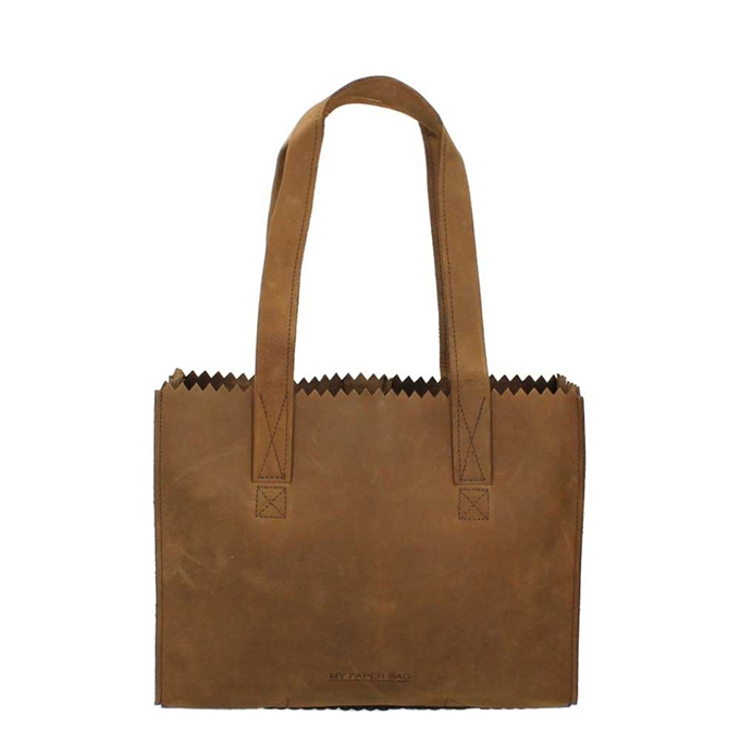 Myomy Paper Bag Handbag Zip original
