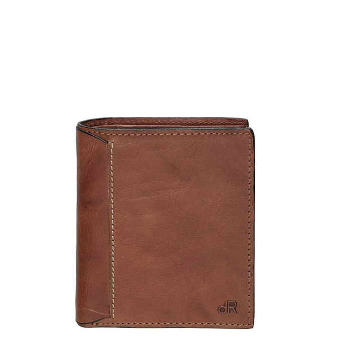 dR Amsterdam Waxi Portefeuille RFID 12CC chestnut - 1