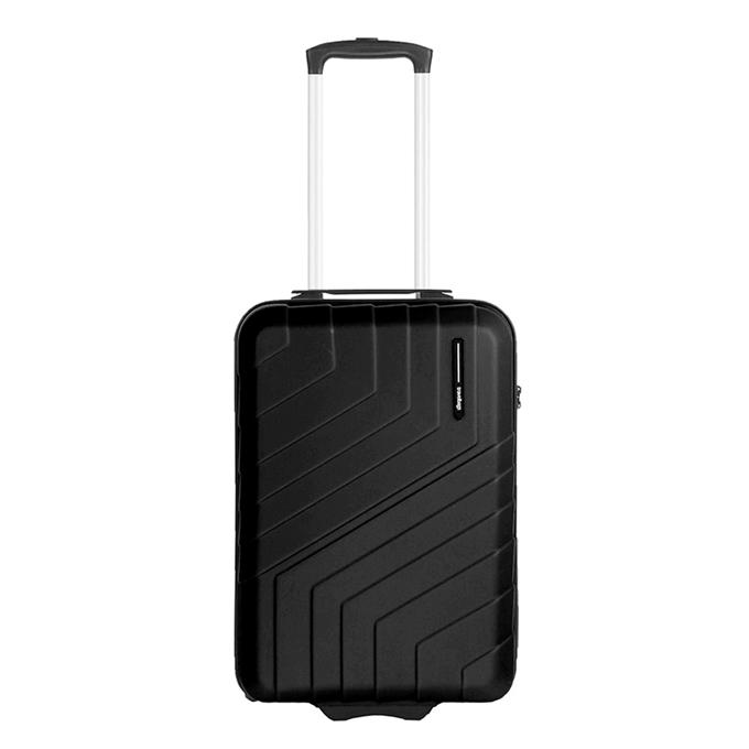 Travelbags Barcelona Handbagage koffer - 55 cm - 2 wielen - black