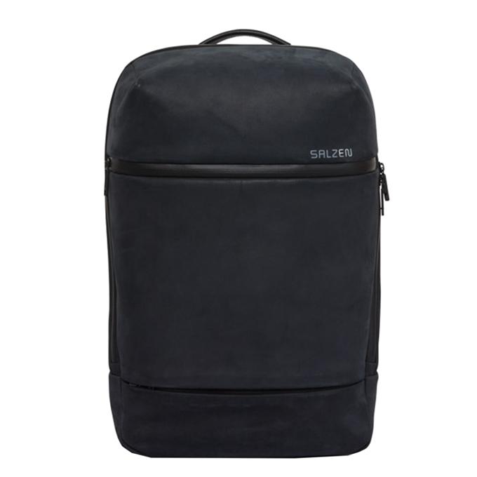 Salzen Savvy Daypack Leather black / charcoal